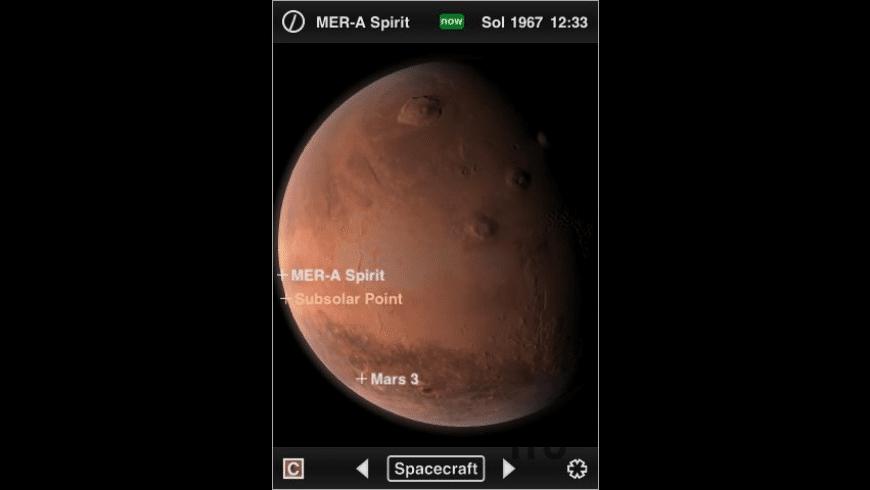 Mars Globe for Mac - review, screenshots