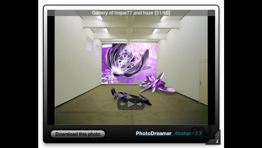 PhotoDreamer: Abstract 3D for Mac - review, screenshots