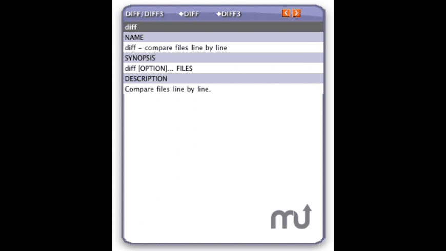 dii/diff3 Cheat Widget for Mac - review, screenshots
