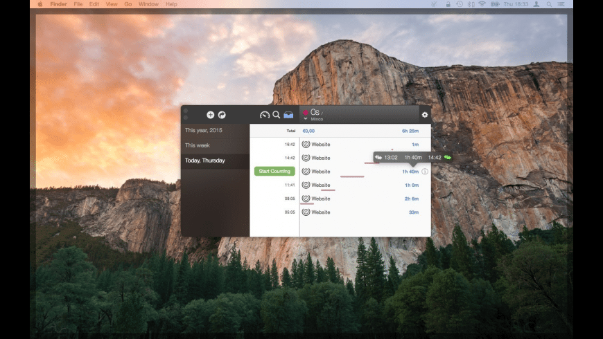 Minco for Mac - review, screenshots