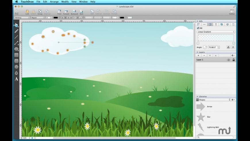 TouchDraw for Mac - review, screenshots