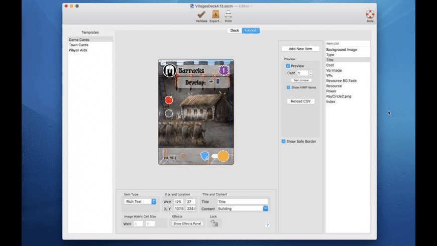 Multideck for Mac - review, screenshots