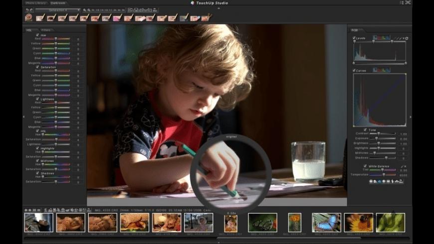 TouchUp Studio for Mac - review, screenshots