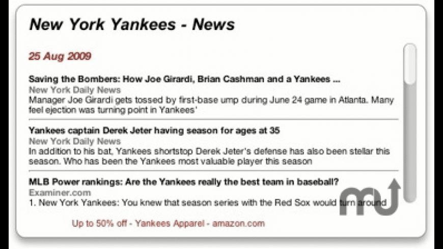 MLB Baseball News for Mac - review, screenshots