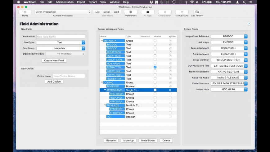 WarRoom for Mac - review, screenshots