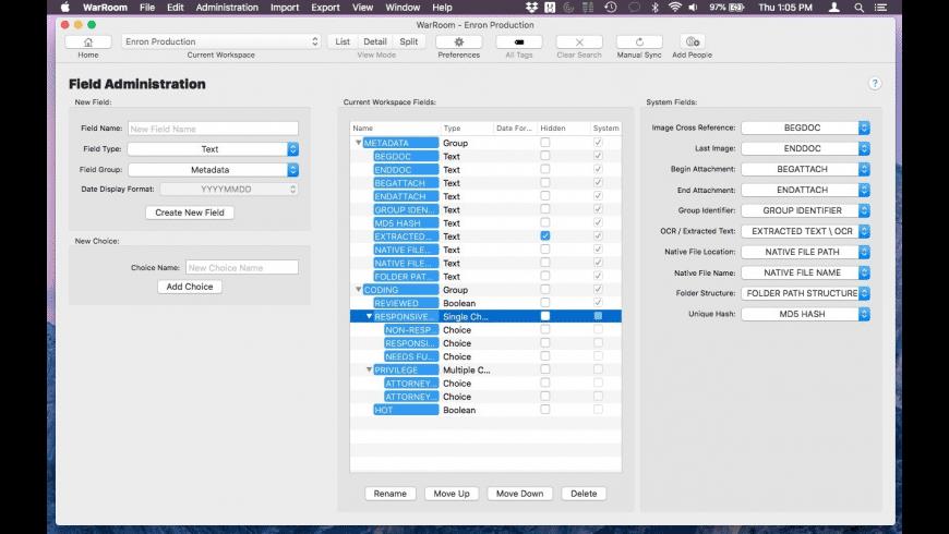 WarRoom for Mac - review, screenshots