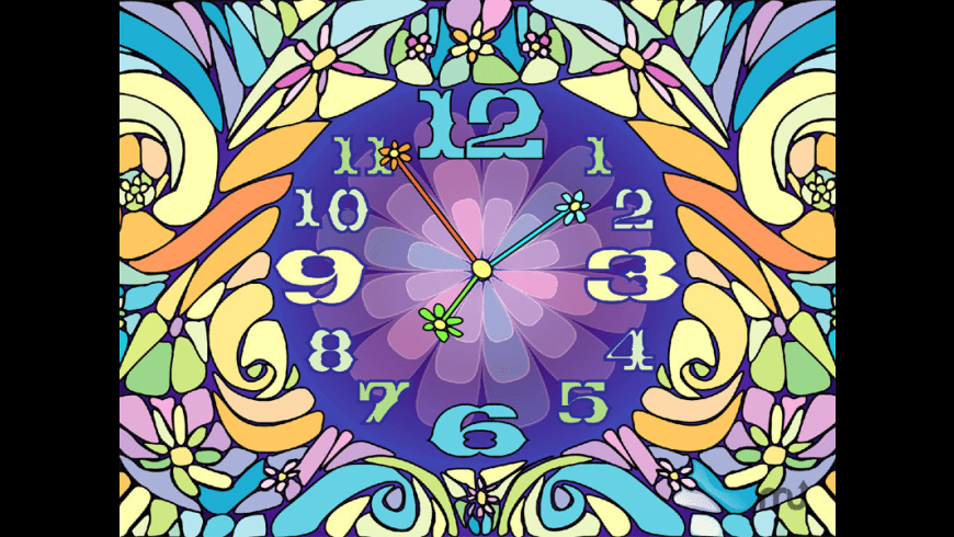 7art Blossom Clock for Mac - review, screenshots