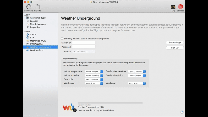 WeatherSnoop for Mac - review, screenshots
