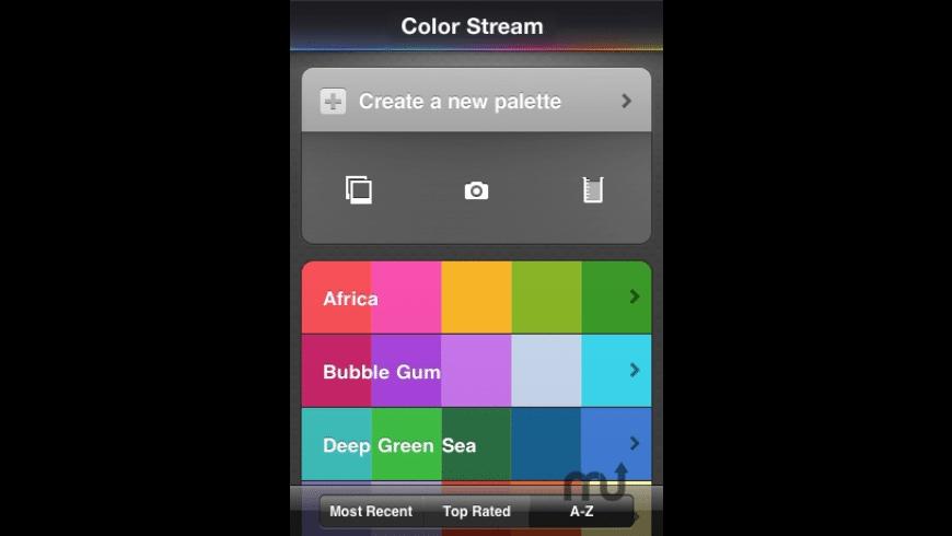 Color Stream for Mac - review, screenshots