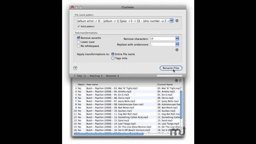 Clochette for Mac - review, screenshots