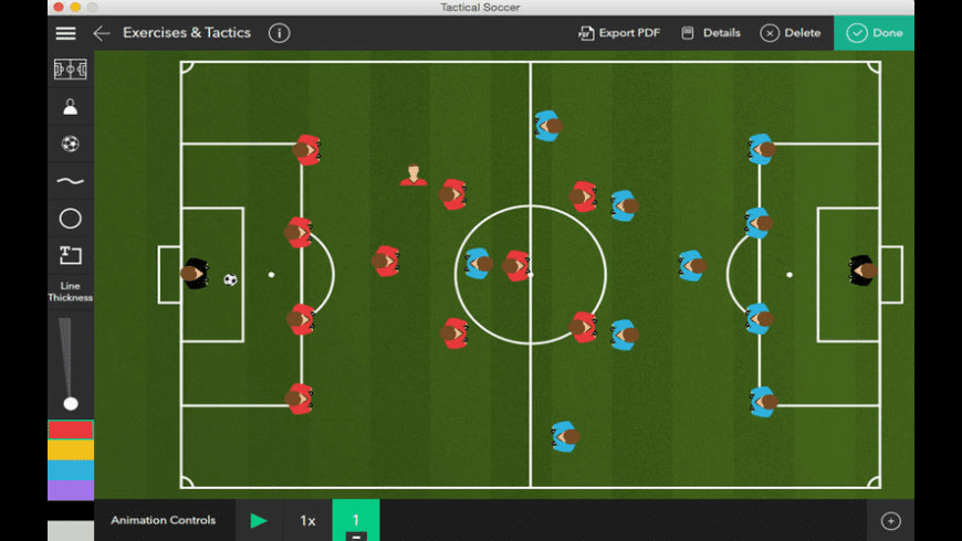 Tactical Soccer for Mac - review, screenshots
