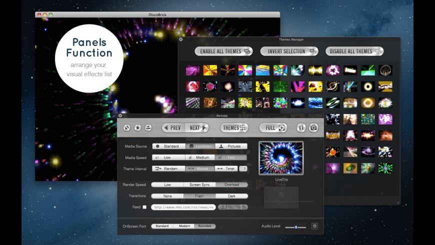 DiscoBrick for Mac - review, screenshots