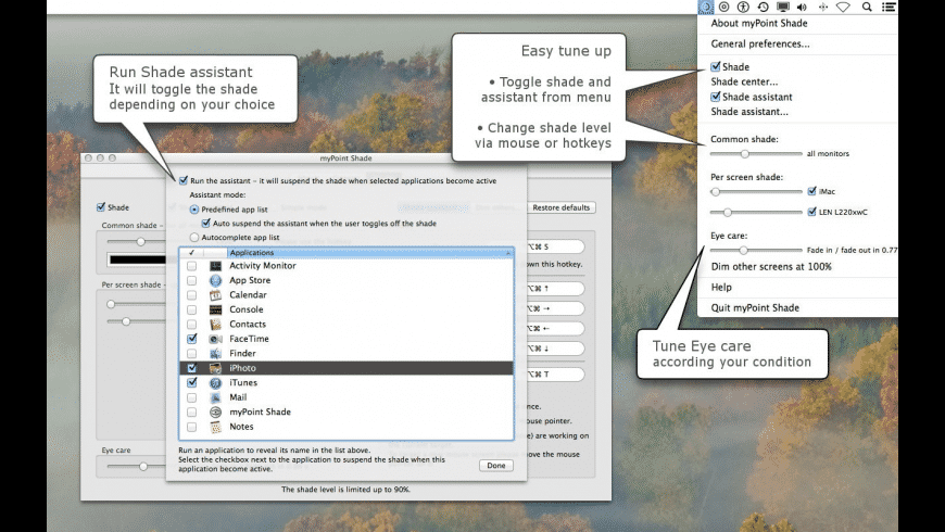 myPoint Shade for Mac - review, screenshots