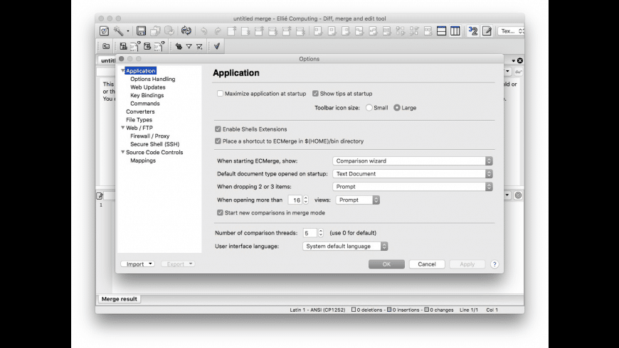ECMerge Pro for Mac - review, screenshots