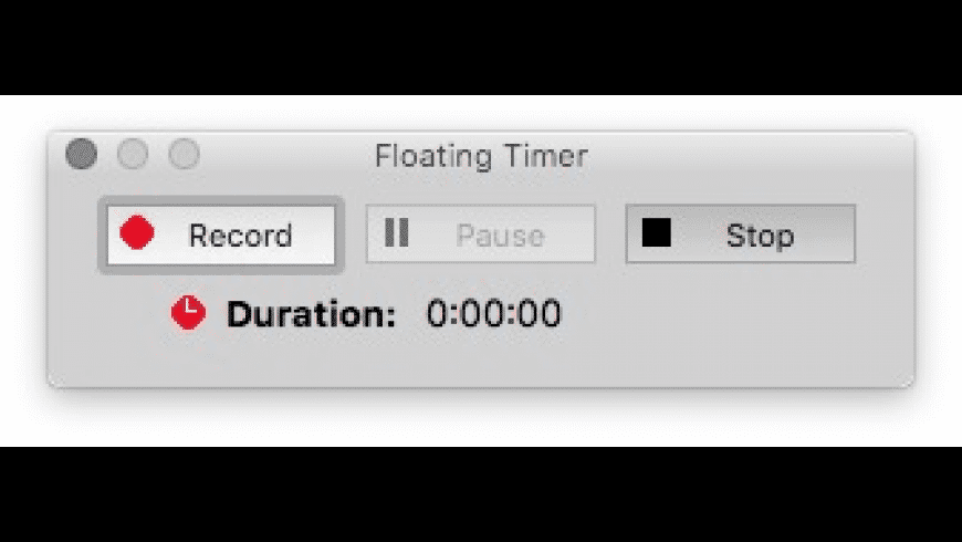 Work-Timer for Mac - review, screenshots