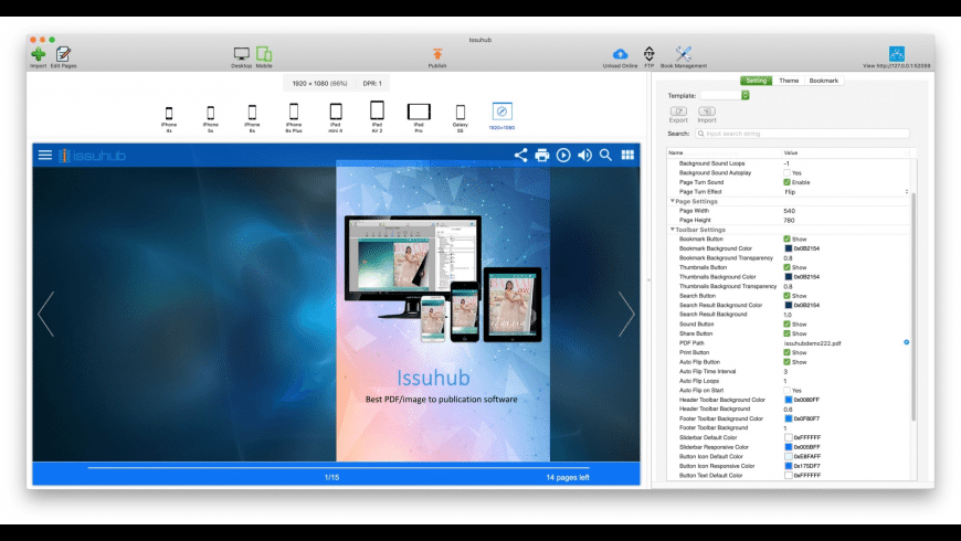 Issuhub for Mac - review, screenshots
