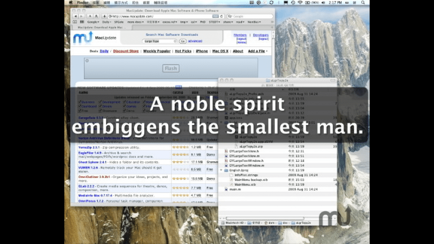 LargeType2 for Mac - review, screenshots