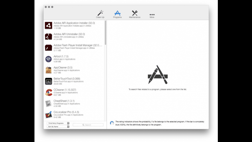CleanApp for Mac - review, screenshots