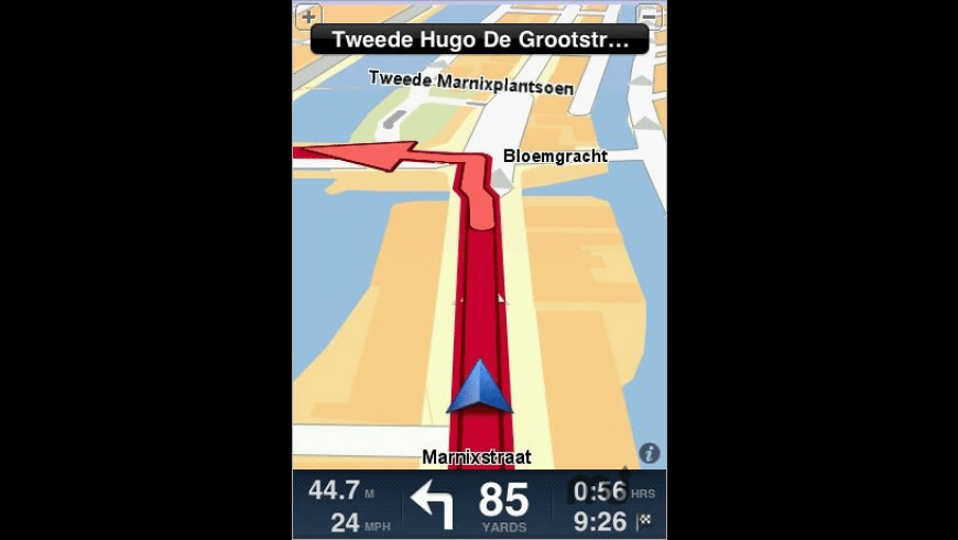 TomTom Benelux for Mac - review, screenshots
