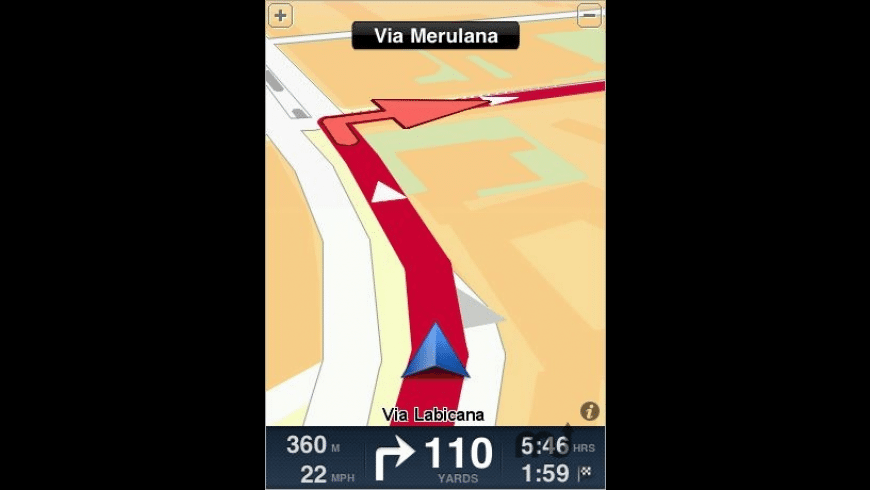 TomTom Italia for Mac - review, screenshots