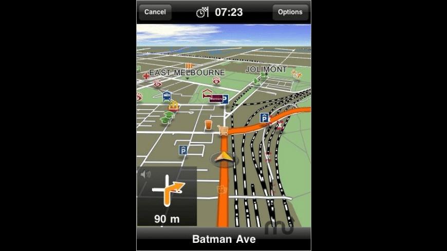 MobileNavigator Australia for Mac - review, screenshots