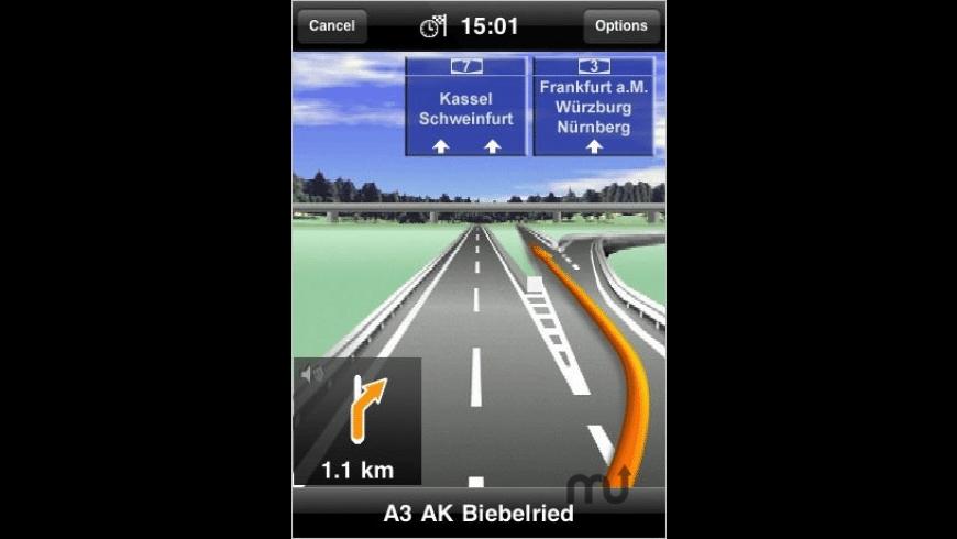 MobileNavigator Europe for Mac - review, screenshots