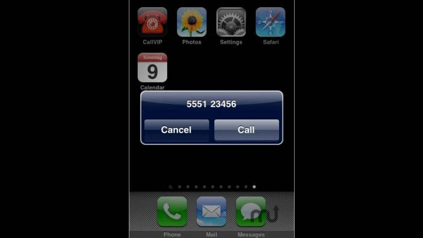 Call VIP for Mac - review, screenshots