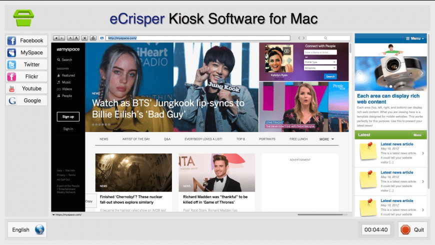 eCrisper for Mac - review, screenshots