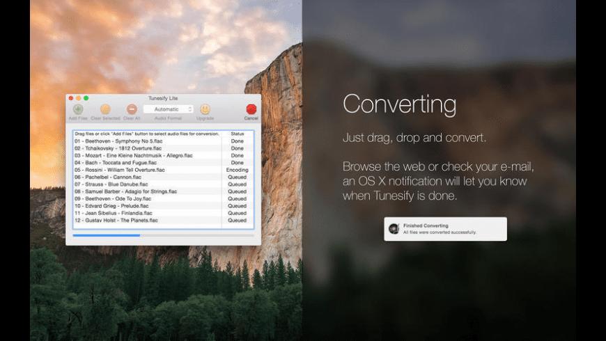 Tunesify Lite for Mac - review, screenshots