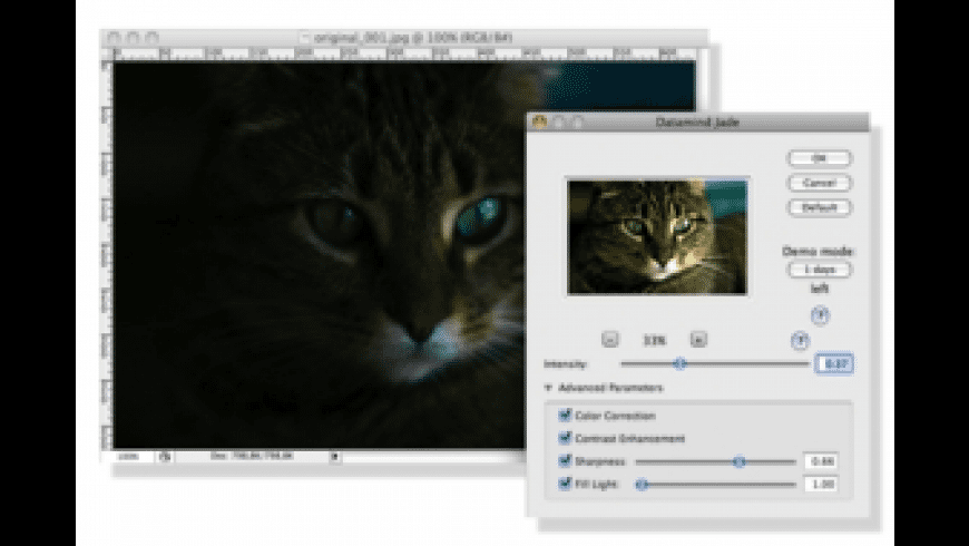 Jade Photoshop Plug-in for Mac - review, screenshots