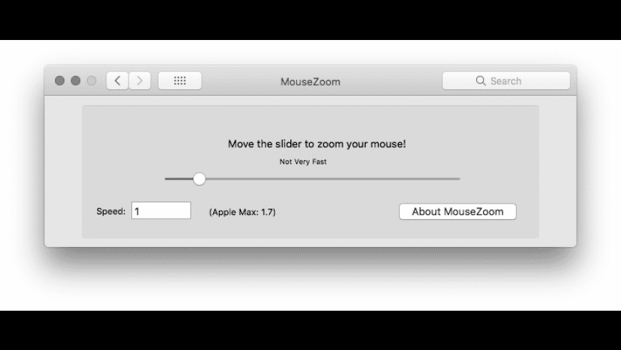 MouseZoom X for Mac - review, screenshots