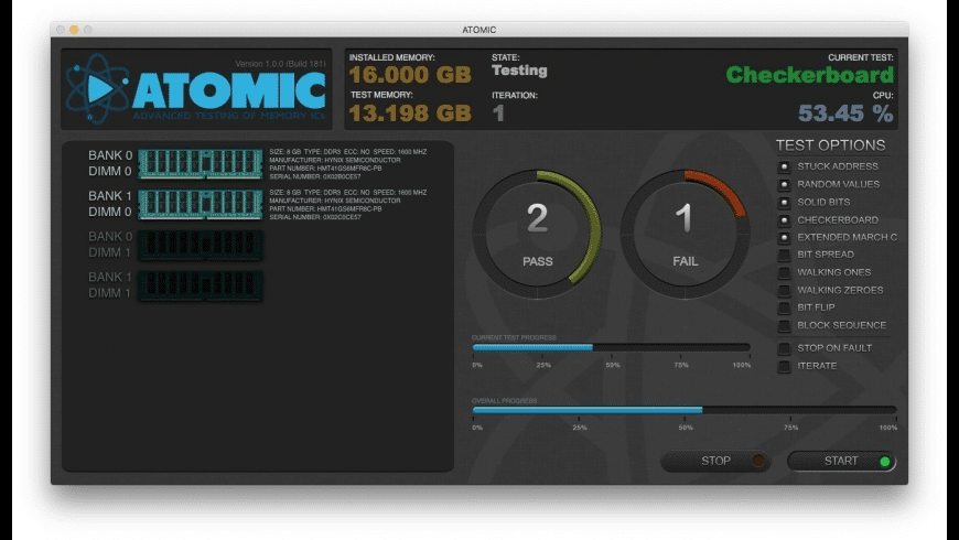 ATOMIC for Mac - review, screenshots
