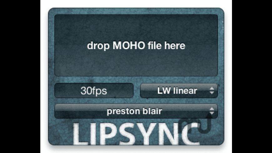 LipSync for Mac - review, screenshots