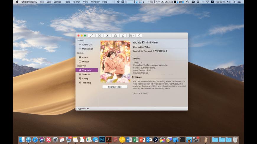 Shukofukurou for Mac - review, screenshots