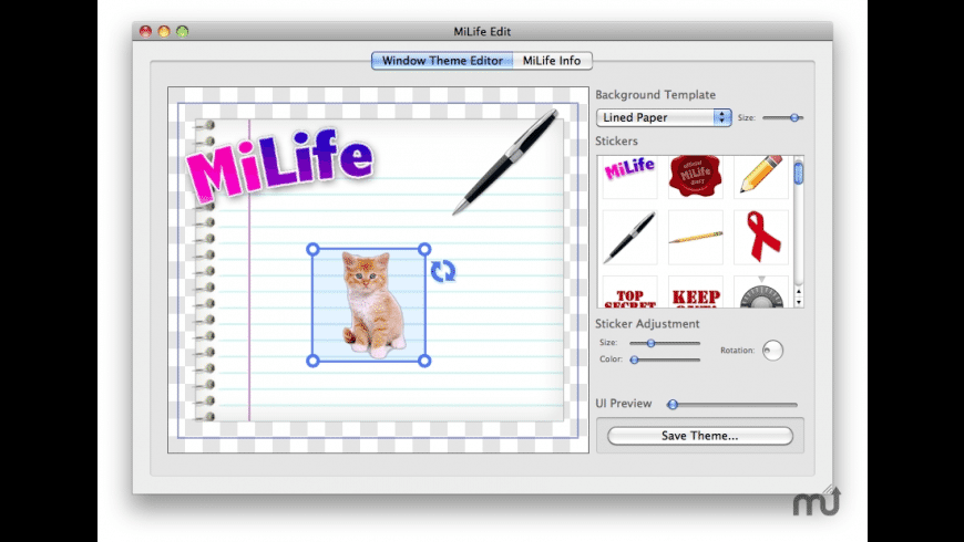MiLife Edit for Mac - review, screenshots