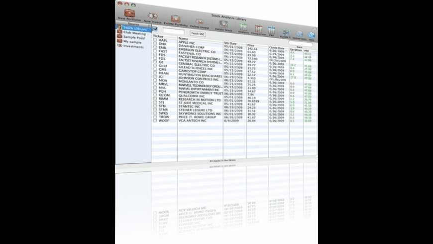 Stock Investment Guide for Mac - review, screenshots