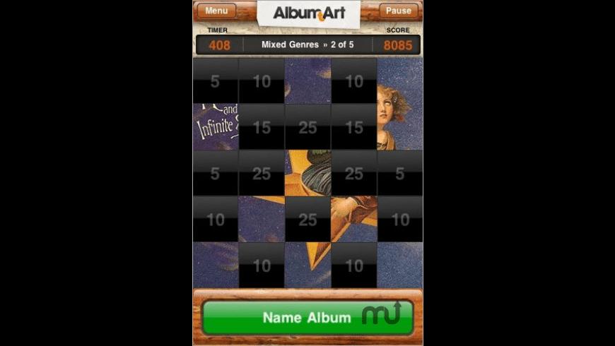 Album Art Tap for Mac - review, screenshots