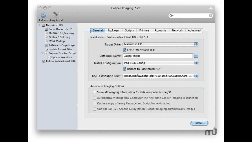 Imaging Suite for Mac - review, screenshots