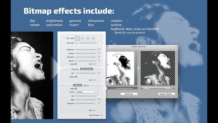 Image Vectorizer for Mac - review, screenshots