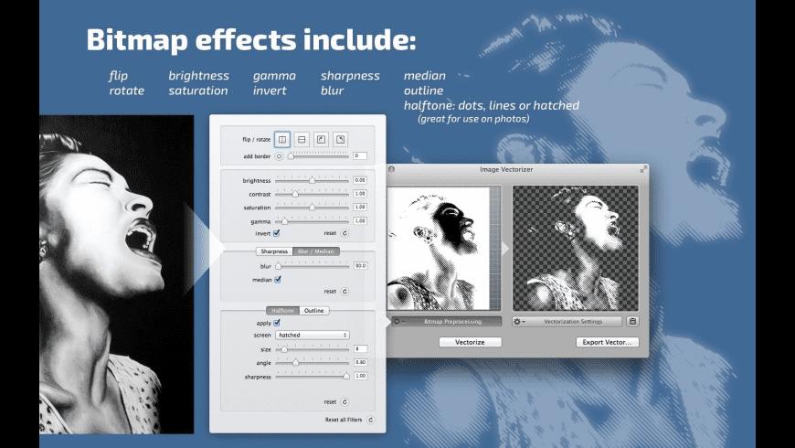 Image Vectorizer for Mac - review, screenshots