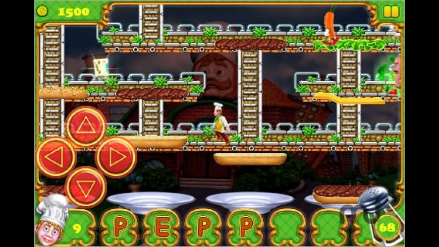 BurgerTime Deluxe for Mac - review, screenshots