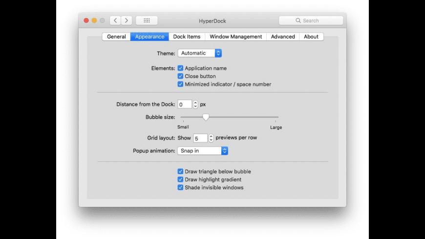 HyperDock for Mac - review, screenshots