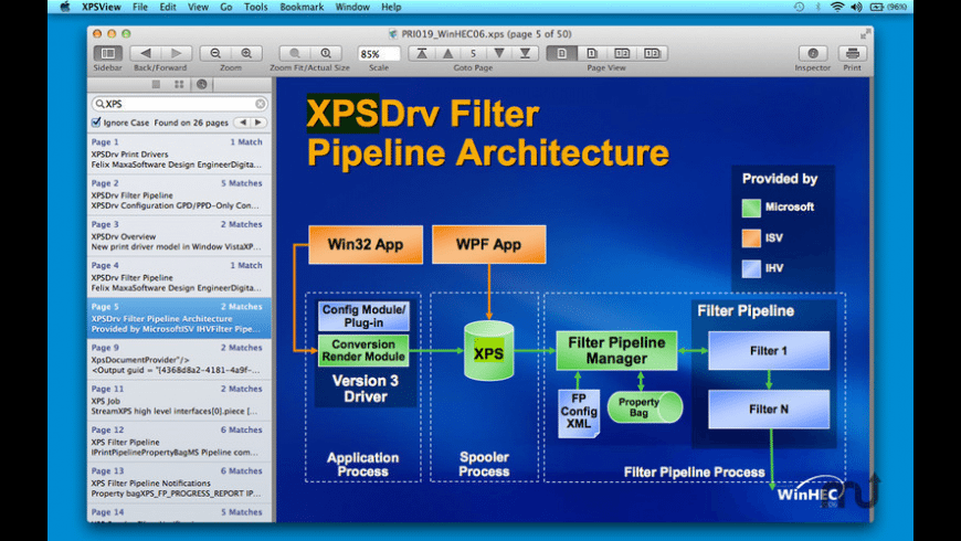 XPSView for Mac - review, screenshots