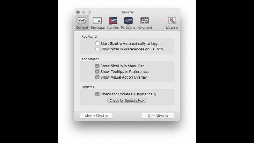 SizeUp for Mac - review, screenshots