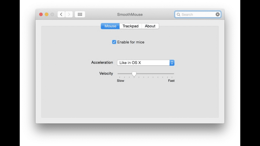 SmoothMouse for Mac - review, screenshots