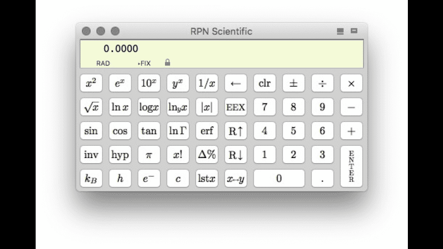 RPN Scientific for Mac - review, screenshots