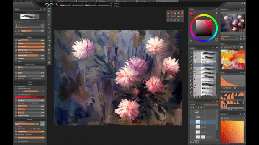 Paintstorm Studio for Mac - review, screenshots