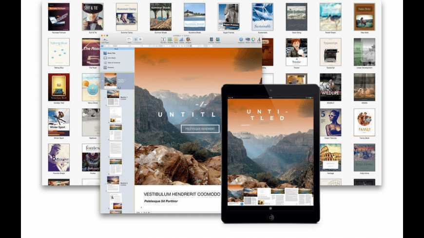 Themes for iBooks Author for Mac - review, screenshots