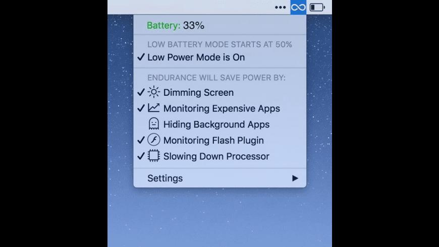Endurance for Mac - review, screenshots