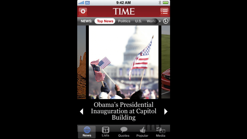 TIME Mobile for Mac - review, screenshots